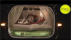 Launch video for ola rooms