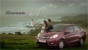 Product video for honda amaze