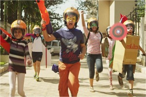 Commercial for icici feat. kids