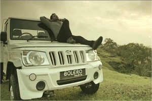 Product launch commercial for mahindra