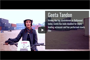 Campaign video for reebok feat. geeta tandon