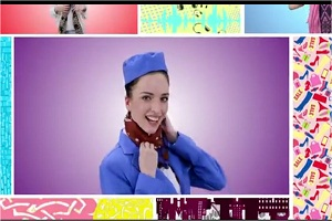 Digital film for red riding scarves