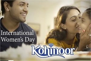 Kohinoor rice brand film   women s day