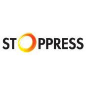 Stoppress betadare logo